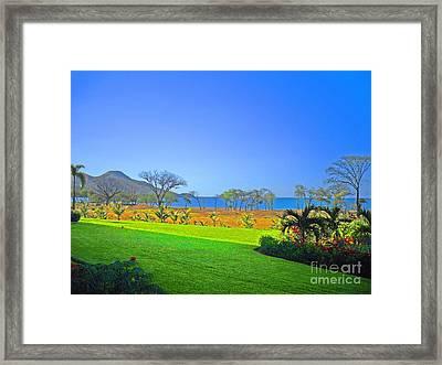 Playa Matapalo Framed Print by Jonathan Steward