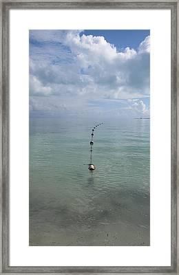 Playa Mujeres Beach Framed Print