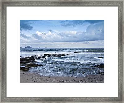Playa Norte Beach Framed Print by Charrie Shockey