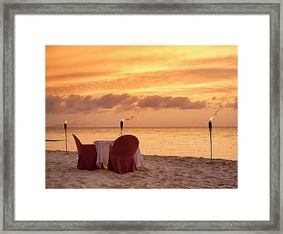Playa Norte Evening Framed Print by Allan Van Gasbeck