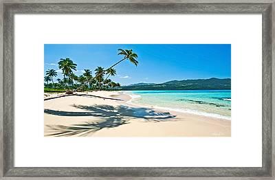 Playa Rincon Framed Print