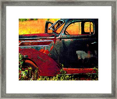 Framed Print featuring the photograph Played Out by Christopher McKenzie