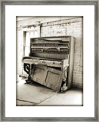 Played Out Framed Print