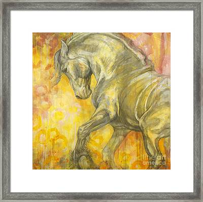 Playful Joy Framed Print by Silvana Gabudean