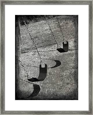 Playground In My Mind Framed Print by Steven  Michael