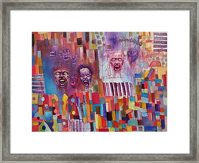 Playground Of The Undead Framed Print