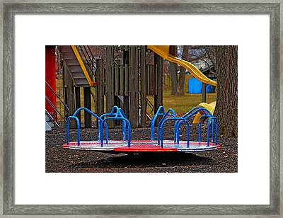 Framed Print featuring the photograph Playground by Rowana Ray