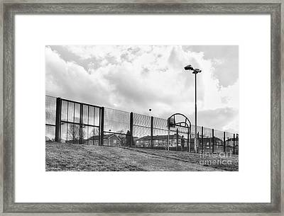 Playing Ball Framed Print