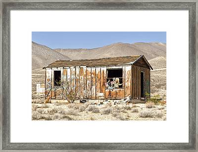 Playing House Framed Print