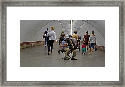 Playing Framed Print by Kees Colijn