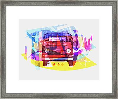 Playing Shapes Cars 01 Framed Print by Joost Hogervorst