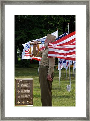 Playing Taps 2 Panel Composite Digital Art Framed Print