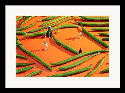 Tennis China Framed Prints