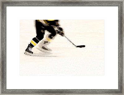Playing The Game Framed Print by Karol Livote