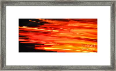 Playing With Fire 17 Framed Print