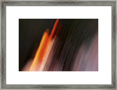 Playing With Fire Framed Print by Steve Belovarich