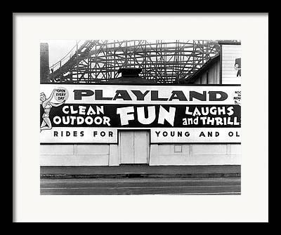Playlands Framed Prints