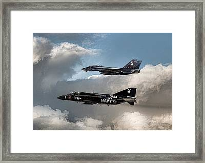 Playmates Framed Print by Peter Chilelli