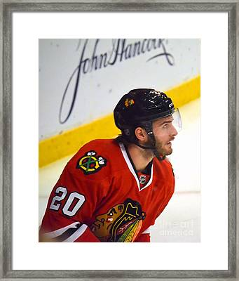 Playoff Saad Framed Print