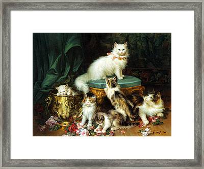 Playtime Framed Print by Jules Leroy