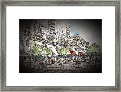 Plaza 2 Framed Print