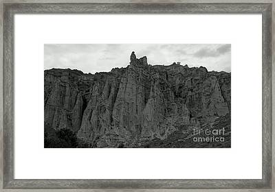 Plaza Blanca Framed Print by Polly Anna