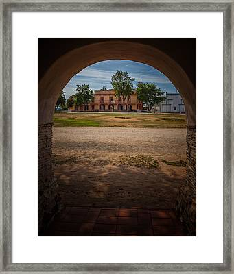 Plaza Hall Framed Print