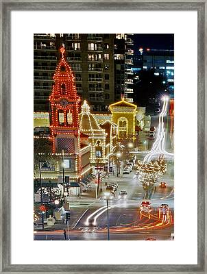 Plaza-kansas City Framed Print