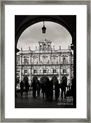 Plaza Mayor Salamanca Framed Print