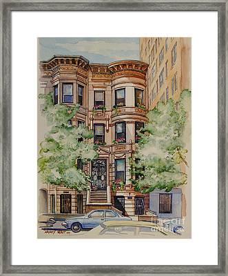 Plaza Street West 1994 Framed Print