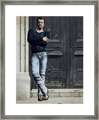 Plazza Suite Framed Print