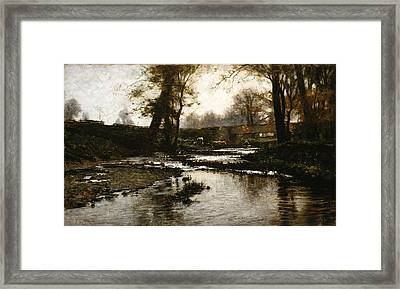 Pleasant Run Framed Print