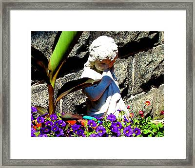 Framed Print featuring the photograph Please Can I Pick Just One by June Holwell