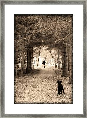 Please Come Back  Framed Print by Cathy  Beharriell