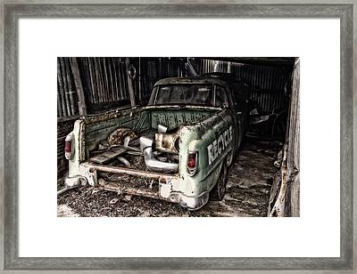 Please Framed Print by John Monteath