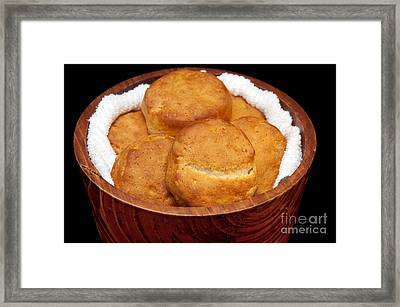 Please Pass The Biscuits Framed Print by Andee Design