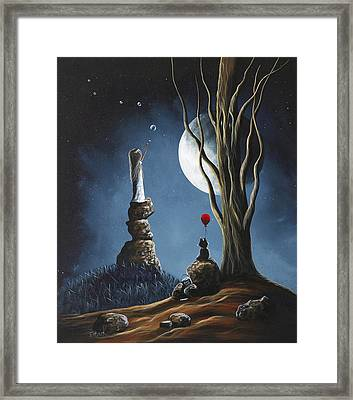 Surreal Art Print By Shawna Erback Framed Print by Shawna Erback
