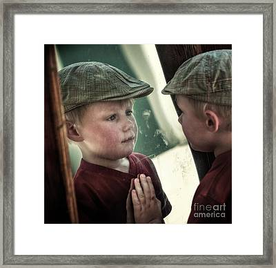 Pleased To Meet Framed Print by Michel Verhoef