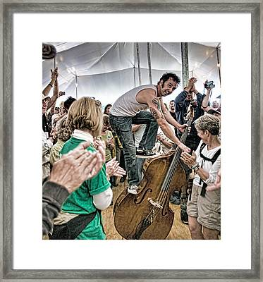 The Lost Bayou Ramblers Pleasing The Crowd Framed Print