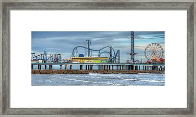 Pleasure Pier Framed Print