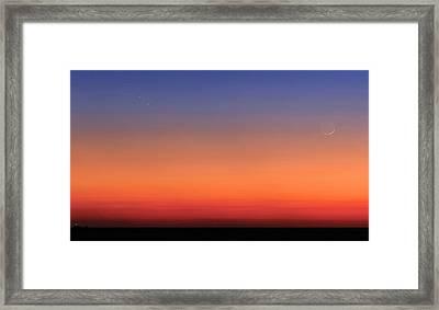 Pleiades Framed Print by Luis Argerich