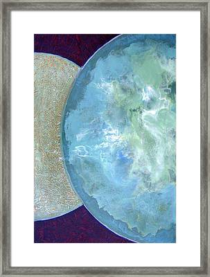 Pleiades Meditation Framed Print by Carolyn Goodridge
