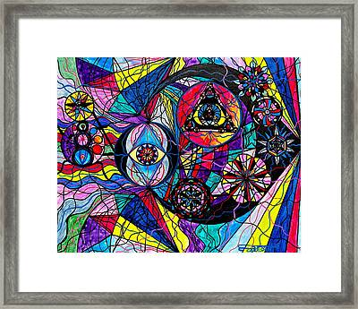 Pleiades Framed Print by Teal Eye  Print Store