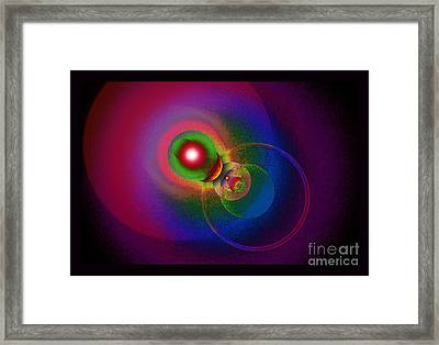 Pleiadian Pathways Framed Print by Susanne Still
