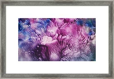 Pleiadian Sea Life Framed Print