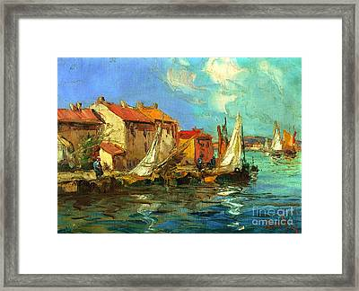Plein Air One Framed Print by Michael Swanson