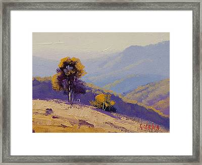 Plein Air  Study Framed Print by Graham Gercken