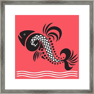 Plenty Of Fish In The Sea 6 Fish Framed Print