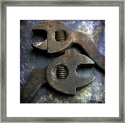 Pliers Framed Print by Bernard Jaubert