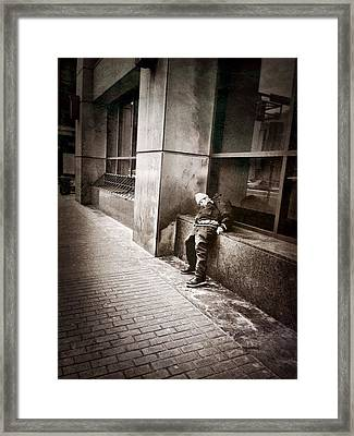 Plight Framed Print